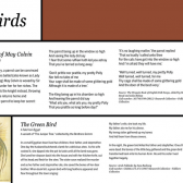 The Balld of May Colvin, The Green Bird, and Twa Corbies ballads