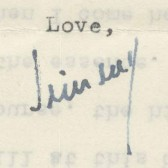 James Baldwin's signature